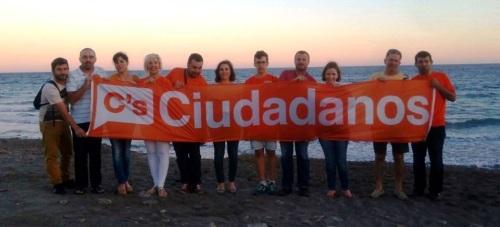 Ciudadanos Motril denuncia el mal estado de las playas en el inicio de la temporada alta