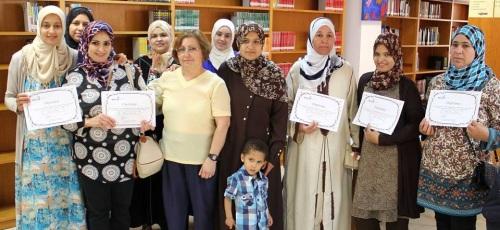 Concluye el 'Curso de Español para Extranjeros' con la entrega de diplomas a las alumnas