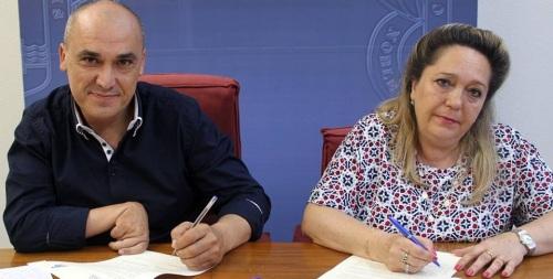 El Ayto. de Motril y ASPACE firman un acuerdo para ofrecer atención a las personas con parálisis cerebral en la Residencia de San Luis