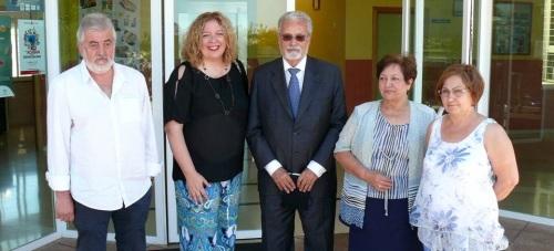 El Defensor del Pueblo Andaluz visita el Colegio de Educación especial Luis Pastor