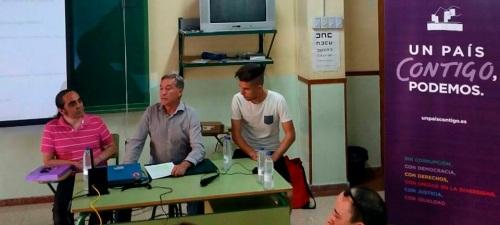 El grupo de trabajo de ecología y medio ambiente del Círculo de Podemos Motril organizó una charla sobre el glifosato