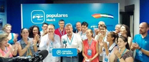 El Partido Popular se consolida como primera fuerza política en Motril
