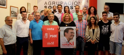El PSOE de Motril inicia la campaña destacando la necesidad de un cambio de gobierno