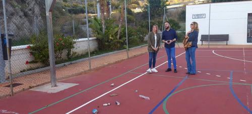 El PSOE lamenta el abandono en el que se encuentra el polideportivo y la zona alta de la rambla del Espinar.png
