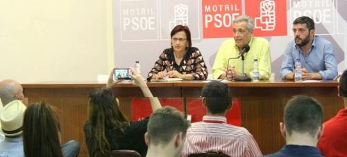 El PSOE pide un Sí al cambio de Gobierno que garantice la educación y la sanidad y que ponga en marcha una nueva ley laboral