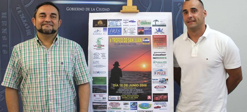 El 'X Trofeo de San Juan de Pesca' reunirá a más de 30 parejas de toda Andalucía en la Playa de Poniente