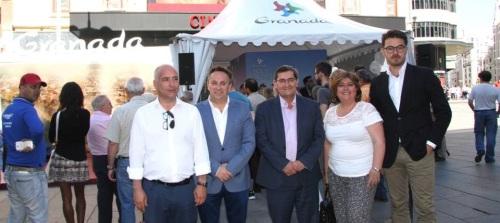 Granada deslumbra en Madrid en su promoción turística a agentes de viaje y periodistas