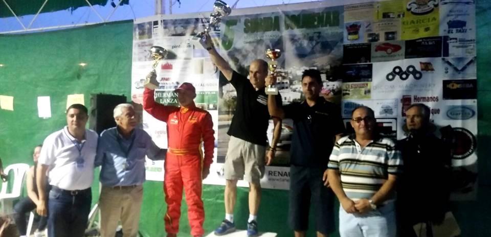 Humberto Janssens ganó las dos fases de la '5ª Subida a Colmenar'