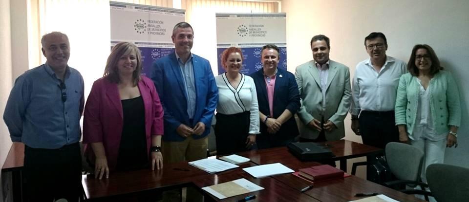 La alcaldesa de Salobreña toma posesión de su cargo como vocal de Turismo de la FAMP