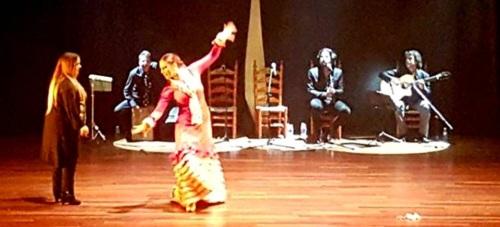 La bailaora Paola Almodóvar triunfó con el espectáculo flamenco 'Pellizco'