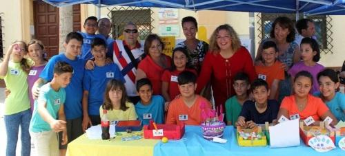 La plaza de San Agustín coge con gran éxito la Feria de Emprendimiento