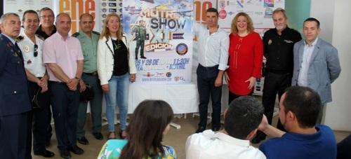 La XI edición del Festival Aéreo de Motril espera congregar en las playas a más de 50.000 aficionados a la aviación