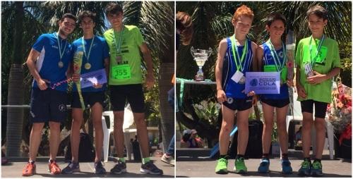 Mauro Correa Conniglione y Darius Spalt hicieron podio en la Milla de la calle Ancha de Motril