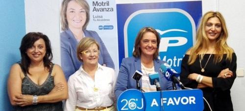 Para el PP, el PSOE de Motril va en caída libre arrastrando al PA