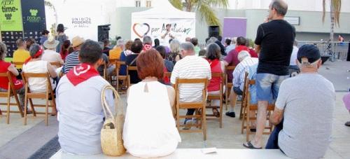 Podemos presentó en Motril su candidatura para el 26-J