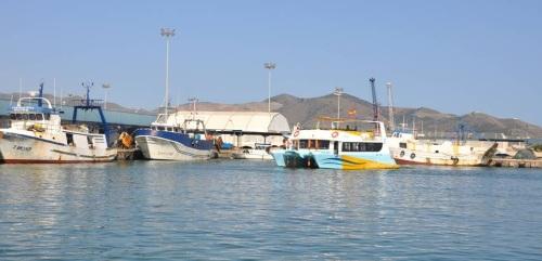 'Rutas de Turismo Pesquero' en el puerto de Motril