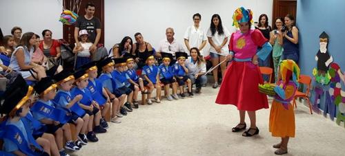 Un centenar de alumnos de los Centros Infantiles Municipales sexitanos se graduaron este curso