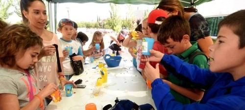 Un centenar de escolares de 4 municipios aprenden a hacer un uso racional del agua y reducir su consumo