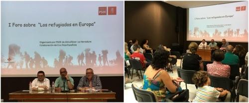 Almuñécar acogió el 'I Foro sobre Refugiados en Europa'