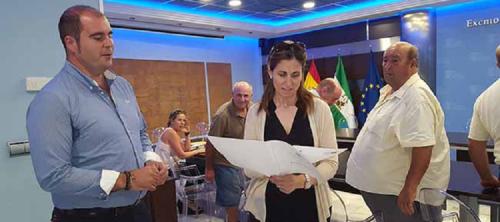 Carta de la alcaldesa a la delegada de Medio Ambiente pidiendo medidas contra la sequía en el campo