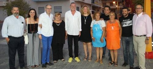 Comienzan las fiestas del barrio de Varadero en honor a la 'Virgen del Carmen' con el encendido del alumbrado
