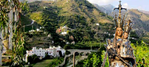 Con la peregrinación de Ntra. Sra. de la Antigua a Torrecuevas el 10 de julio, se terminan las visitas de nuestra Patrona a los barrios de Almuñécar
