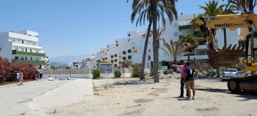 Costas inicia la 2ª fase de las obras del paseo marítimo de Salobreña