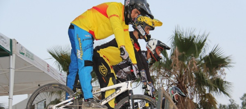 Cuatro podios para el Show Time BMX en la Copa de Andalucía BMX