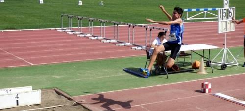 Darío Bruzón 3º en el Campeonato de Andalucía Cadete de Atletismo