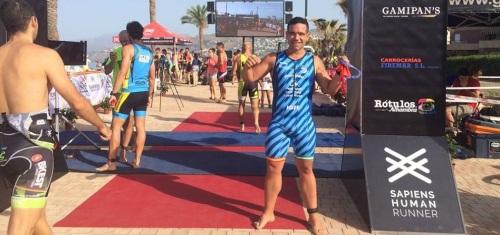 El Triatleta del Sexitano José Emilio Rivera disputó la Primera Edición del Sapiens Triatlon Cross Costa Tropical