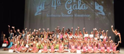 Gala de la Gimnasia Rítmica de Almuñécar para clausurar el curso