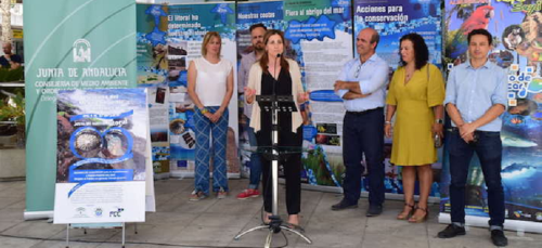 Inmaculada Oria inauguró la 'Semana del Medio Ambiente' en Almuñécar