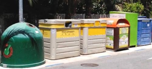 Izquierda Unida se congratula por el reciclado de vidrio en la feria