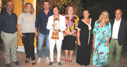 Jorge Pardo recibió la medalla de oro de Almuñécar