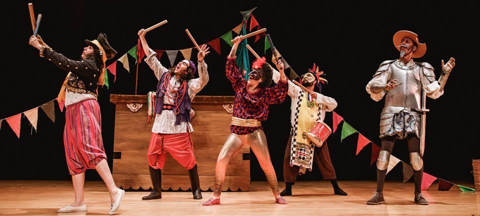 La Cía. Acuario Teatro traerá el 10 de julio a Almuñécar la obra '¡Don Quijote!'
