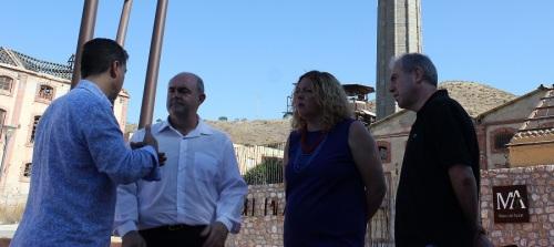 La Junta transfiere al Ayto. 140.824 euros para la reparación de la chimenea de la Fábrica del Pilar