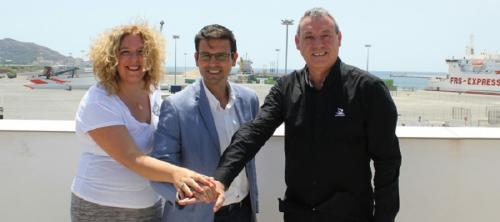 Los Ayuntamientos de Granada, Motril y el Puerto se reúnen para establecer una alianza estratégica