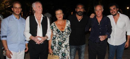 'Los Coloraos' exhibieron su arte flamenco en  Almuñécar