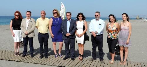 Mancomunidad con la cooperación de Diputación gestiona el balizamiento de todas las playas del litoral