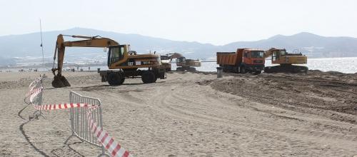 Medio Ambiente anuncia la finalización de las obras en las playas de Granada