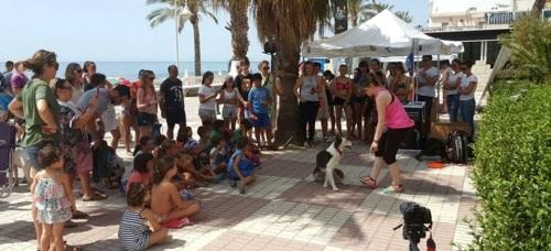 Ocho municipios granadinos participan en una campaña de sensibilización de la Diputación