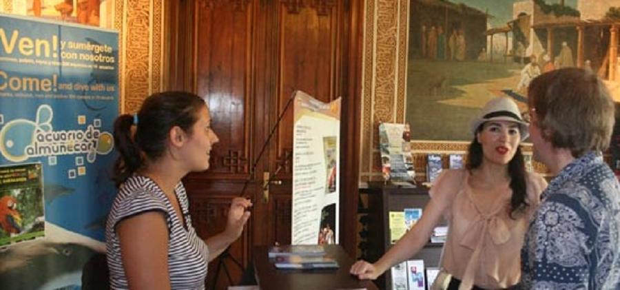 Oficina de Turismo del Palacete de la Najarra de Almuñécar