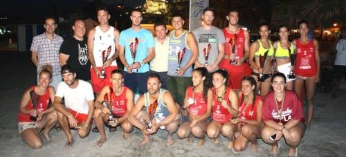 Salobreña bate el récord de parejas apuntadas en el 'Circuito de Voley Playa Costa Tropical'