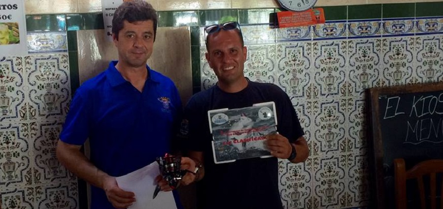 Antonio Montilla gana el III Concurso de Pesca Spinning celebrado en Velilla