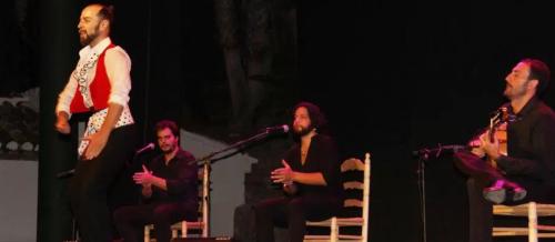 El bailaor Raimundo Benítez cerró el IV Ciclo Flamenco 'Ciudad de Almuñécar'