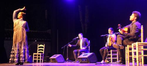 El cantaor flamenco Juan Pinilla exhibió su arte en Almuñécar