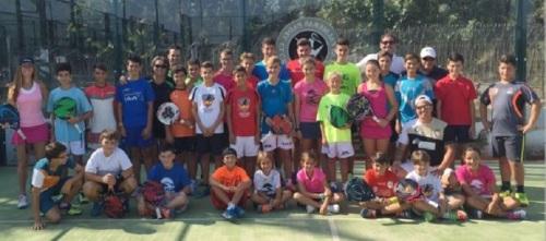 El Club de Pádel Las Palmeras de Motril, escenario de una jornada regional de tecnificación de la FAP