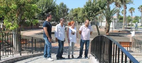 El parque de la Fuente de Salobreña vuelve a abrir sus puertas