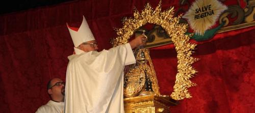 La Patrona de Almuñécar fue coronada ayer por el arzobispo de Granada