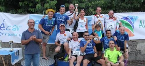 Manuel Rodríguez y Claudia Estévez  ganan la 'Carrera de La Vega'
